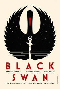 Awesome Black Swan Poster