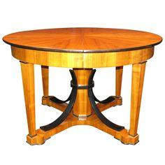 1stdibs - Rare Extending Biedermeier Table. explore items from 1,700 global dealers at 1stdibs.com