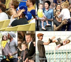 Happy 39th birthday, David Beckham! See Harper Beckham's life in her daddy's arms