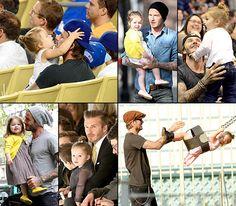 Happy 39th birthday, David Beckham! See Harper Beckham's life in her daddy's arms