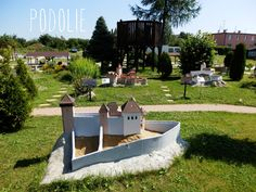 Matúšovo kráľovstvo, Podolie, Park miniatúr