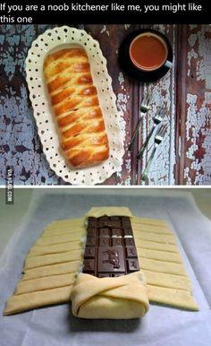 Chocolate Strudel