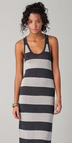 Soft Joie Deidra Deck Striped Maxi Dress