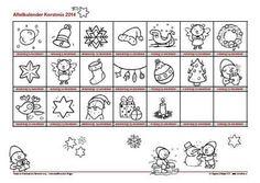 Aftelkalender kerst