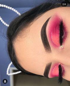 Pink / pinkes Make-up. # – Pink / pinkes Make-up. # – Related posts: Pink makeup look Professioneller Online-Makeup-Kurs (von Pink Mouth) Wenn Sie n Pink und Lila Augen Make-up sieht 19 Amazing Pop Art look ? Pink Eye Makeup, Makeup Eye Looks, Beautiful Eye Makeup, Colorful Eye Makeup, Cute Makeup, Pretty Makeup, Eyeshadow Makeup, Drugstore Makeup, Eyeshadow Palette