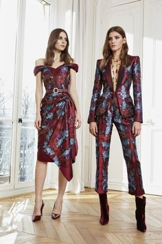 Zuhair Murad Fall 2020 Ready-to-Wear Fashion Show - Vogue Fashion 2020, Look Fashion, Fashion News, High Fashion, Fashion Design, Look Boho Chic, Looks Chic, Camilla Alves, Zuhair Murad Bridal