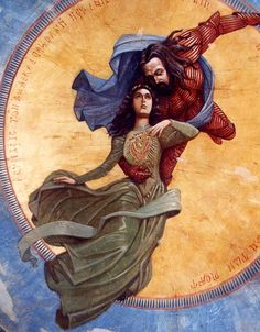 Vlad Tepes and Elisabeta fresco, Bram Stoker's Dracula