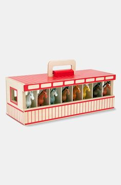 Show Horse Stables...because toy horses love to be pampered too!