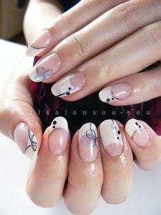 絣と組紐|nail salon 爪装 ~sou-sou~ (入間・狭山・日高・飯能 自宅ネイルサロン)
