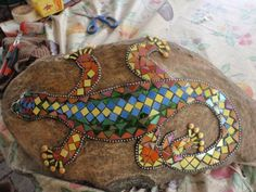 All grouted! by Poppins Mosaics and Crafts, via Flickr