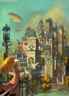 Metropolys by Mathieu Leyssene
