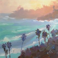 Tom Brown, California, Plein Air, Oil