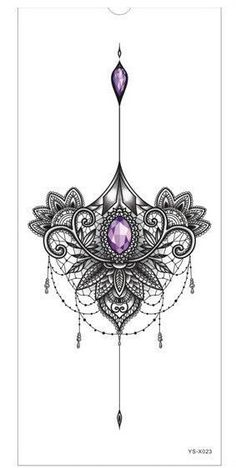 1pc new Chest tattoo stickers large flower shoulder arm Sternum tattoos sleeve body paint death skull rose Black Fire sexy women #beautytatoos