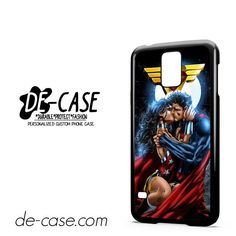 Superman And Wonder Woman Romantic Kiss DEAL-10286 Samsung Phonecase Cover For Samsung Galaxy S5 / S5 Mini