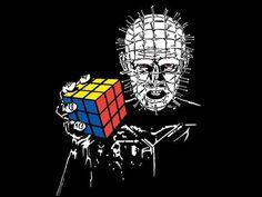 Pinhead and his Rubix Cube