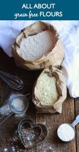 All About Grain Free Flours - www.savorylotus.com