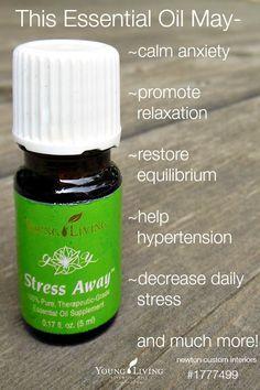 Young Living's Stress Away from NewtonCustomInteriors.com #essentialoils