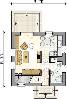 A Frame House Plans, Small House Plans, House Floor Plans, The Plan, How To Plan, Small Floor Plans, Cabins And Cottages, Cabin Plans, House Roof