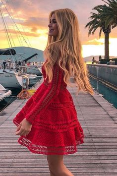 50 + Romantic Outfit Dresses To Look Gorgeous On Special Occasions Cozy Winter Outfits, Trendy Summer Outfits, Stylish Outfits, Cute Outfits, Spring Outfits, Stylish Clothes, Dress Outfits, Fashion Dresses, Corpo Sexy