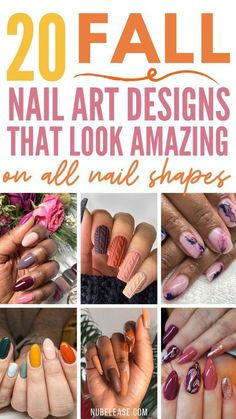 Whether you're a natural-nail devotee, or if your manicures are always covered with press-on tips, there's a fall design that will make your nails stand out from the rest of the crowd.