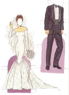 paper doll images | Miss Missy Paper Dolls: Wedding Fashion Paper Doll