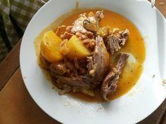 Recette de Canette cocotte aux pommes de terre