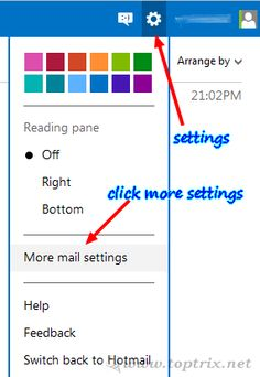 Link Multiple Windows Outlook, Hotmail or Live accounts for Easy Switching With Multiple Sign-In