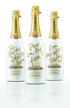Chandon Limited Edition Holiday Bottle By Chandon, $24. chandon.com