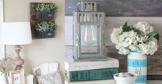 Love the rustic, farmhouse look in your home decor? We especially love the vintage, distressed look of farmhouse decor in the bedroom, and when you can DIY it, even better. From cool wall art ideas to bed frames and headboards, crafty sewing projects for your bed and unique lighting ideas, some of t