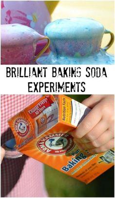 Brilliant baking soda experiments