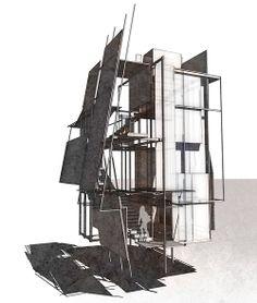 UF Architecture - John Fechtel B.Design in Architecture 2015 - Door/Window/Stair 2012 Site Analysis Architecture, Concept Models Architecture, Conceptual Architecture, Architecture Concept Diagram, Paper Architecture, Architecture Drawings, Interior Architecture, Art Conceptual, Arch Model