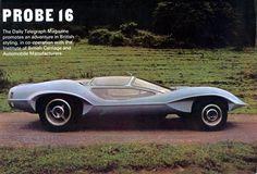 1969 Adam Brothers Probe 16 Concept