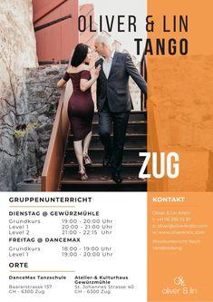 New Courses Starting September 2019 - Oliver & Lin - Tango Argentine Tango, Switzerland, September, News, Zug