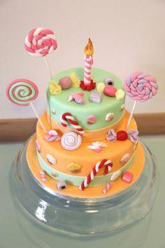 #candycake