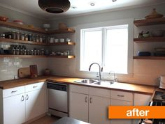 Before & After: Mousy Kitchen gets an IKEA Makeover   Apartment Therapy