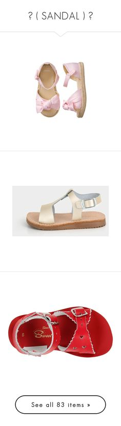 ● ( SANDAL ) ● by monstercrazzylove2 on Polyvore featuring women's fashion, shoes, sandals, rubber sole sandals, rubber sole shoes, summer sandals, tan sandals, tan shoes, espadrille sandals and crochet shoes