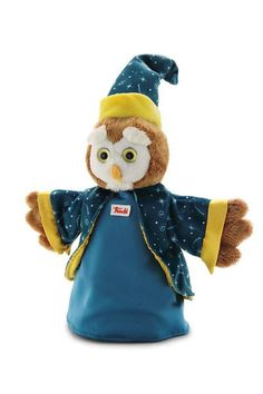 Trudi Hand Puppet Owl Wizard