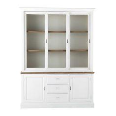 Leandre - Bahut 3 portes blanc