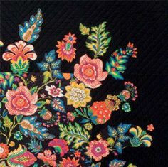 Detail of Broderie Perse by Denyse Schmidt of Denyse Schmidt Quilts - still a favorite of mine! So beautiful!