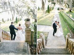 A Jacksonville Florida Wedding at the Epping Forest Yacht Club / via StyleUnveiled.com