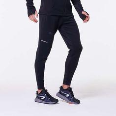 Pantalon Jogging Run Warm+ Negru Bărbaţi KALENJI - Decathlon.ro Decathlon, Warm, Running, Clothing, Pants, Outdoor, Fashion, Outfits, Trouser Pants