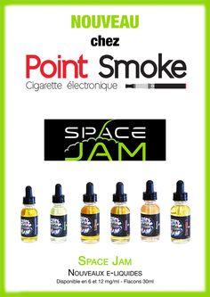 Point Smoke - Nouveauté - Liquides Space Jam - Fioles 30 ml - PG/50 VG/50 - #spacejam #ejuice #eliquide #pointsmoke #eliquid #vape - http://www.point-smoke.fr/space-jam.htm