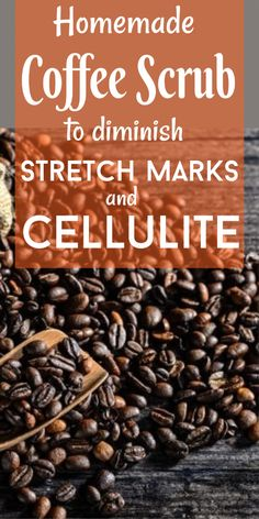 Homemade Coffee Scrub To Diminish Stretch Marks And Cellulite #stretchmarks #cellulite #coffee #skincare #beautytips #homeremedies #StretchMarksOnThighs Best Anti Aging, Anti Aging Skin Care, Natural Hair Mask, Natural Hair Styles, Natural Beauty, Homemade Coffee Scrub, Stretch Marks On Thighs, How To Grow Eyebrows, Skin Tag Removal
