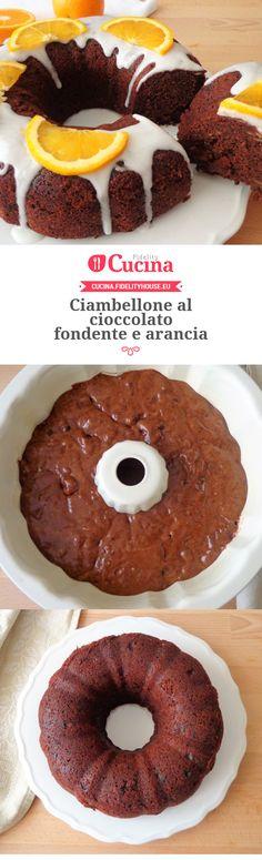 #Ciambellone al #cioccolato fondente e #arancia della nostra utente Magdalena. Unisciti alla nostra Community ed invia le tue ricette!