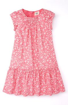 Mini Boden Pretty Printed Dress (Toddler Girls, Little Girls & Big Girls) available at #Nordstrom