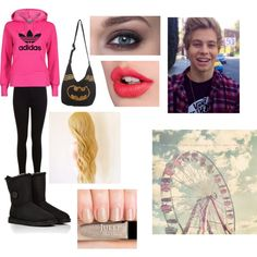 """""""Carnival Date with Luke!!"""" by samanthapadilla on Polyvore"""