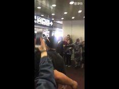 Une fan de G-Dragon violemment poussée par un garde du corps à l'aéroport cause la controverse : News : K-Pop News - Korean Entertainment News | Kpopstarz.com