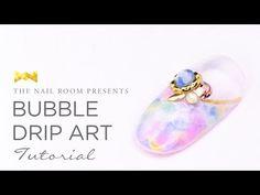 Bubble Drip Art Nail Tutorial - Japanese Nail Art Tutorial [HD] - YouTube