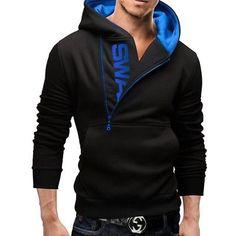 Reliable Men Fireworker Style Zipper Hooded Sweatshirt Jacket Jumper Zipper Fleece Hoodie Work Casual Warm Hoody Sweatshirts Men's Clothing