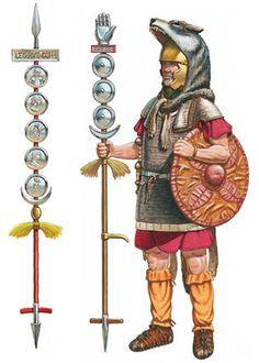 La Pintura y la Guerra. Military Art, Military History, Ancient Rome, Ancient History, Roman Warriors, Roman Legion, Empire Romain, Armadura Medieval, Classical Antiquity